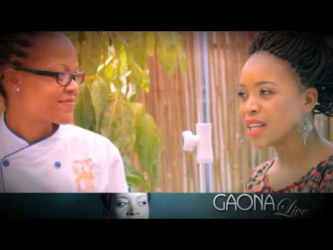 #GaonaLiveSponsor - Owner and Chef of Lorraine's Ntlo Maison French Bistro.