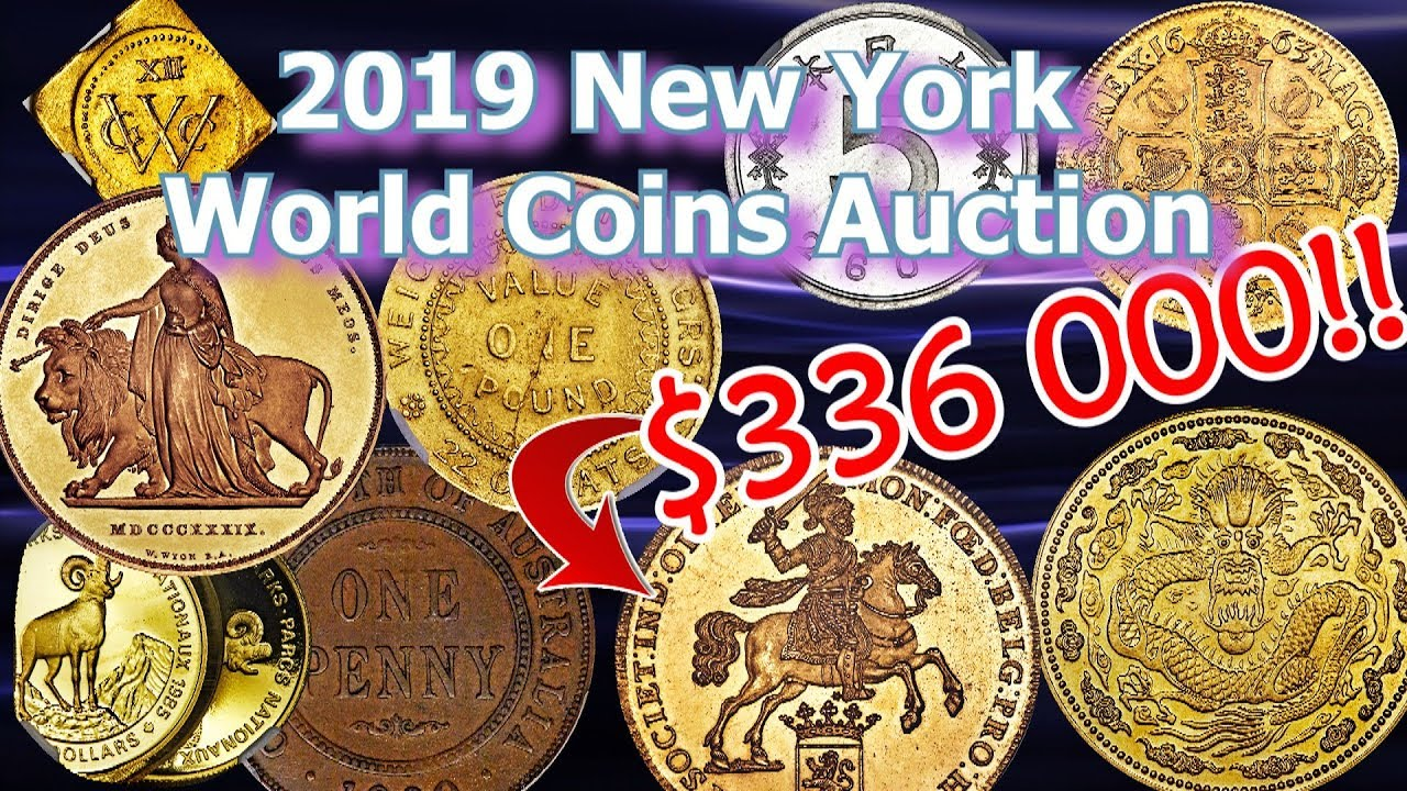 New York World Coin Auction Sees Coins worth Millions