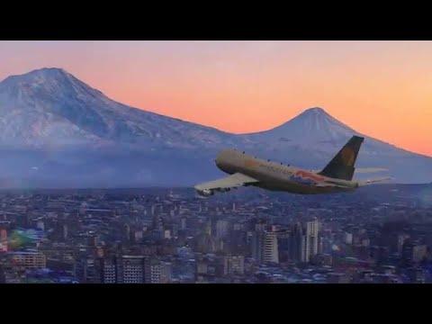 В Ереван из Москвы прилетели 203 гражданина Армении
