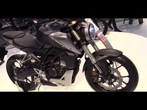 2018 honda cb125r neo sports cafe walkaround debut at 2017. Black Bedroom Furniture Sets. Home Design Ideas