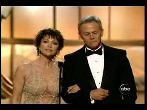 Tristan Rogers and Emma Samms at the 2006 Emmys
