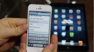 Настройка режима модема на iPhone | iPhone Hotspot(В этом видео я научу вас передавать мобильный интернет вашего iPhone на другие девайсы Следите за обновлениям..., 2012-11-12T23:28:56.000Z)