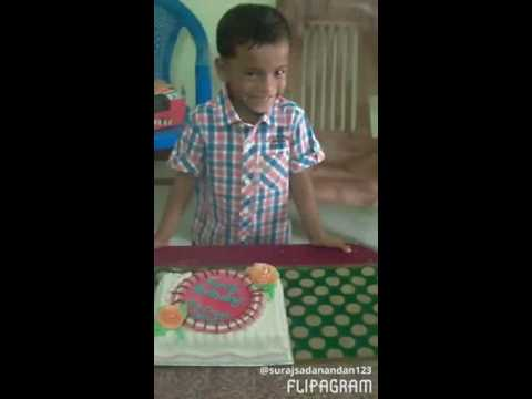 5th HAPPY BIRTHDAY  MY DEAR SON               GODWIN SURAJ