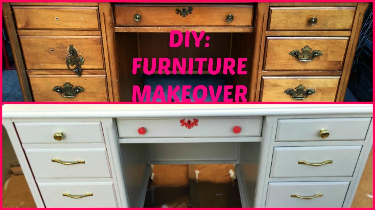 diy furniture makeover beauty room desk jumieanne beauty room furniture