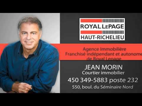 Royal Lepage Haut-Richelieu Jean Morin (Publicité TvMedia.biz)