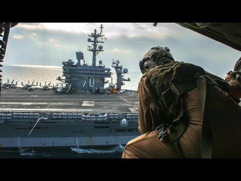 WestPac 2018: US Navy's Forward Present Ready USS Carl Vinson Strike Group