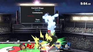 Donkey Kong vs cloud Super Smash Bros Ultimate (Online Battle)