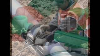 видео Сварка труб ПНД своими руками