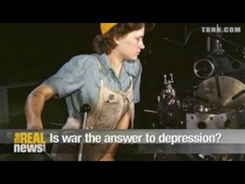 Is war the answer to a depression?