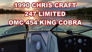 1990 CHRIS CRAFT 247 LIMITED ACCELRATION 454 KING COBRA