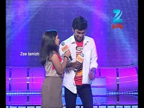 Aravind & Archana in Zee Tamil Sa Re Ga Ma Pa Duet Teasing Round