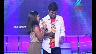 Aravind & Archana in Zee Tamil Sa Re Ga Ma Pa Duet Teasing Round