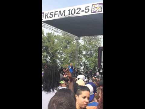 102.5 LIVE- My shit bang! E-40 @Sacramento 2014