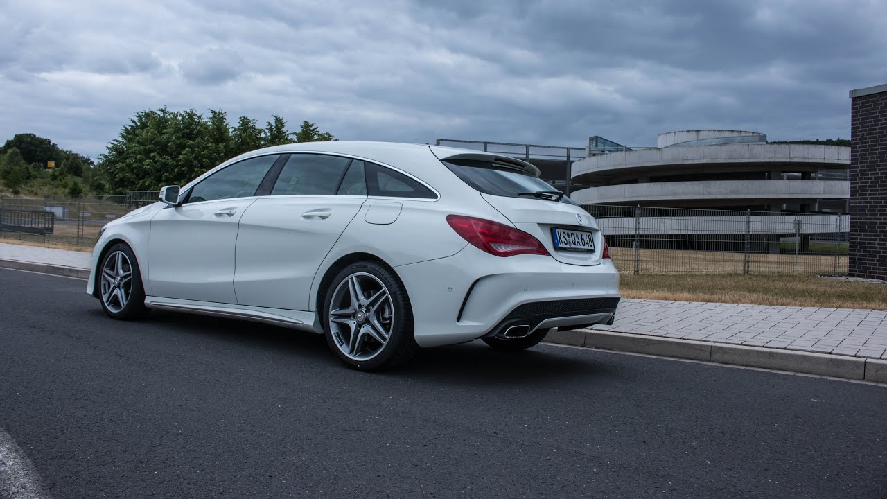 Mercedes Km Shooting Brake Mercedes Mercedes Cla Shooting Brake Review 2017
