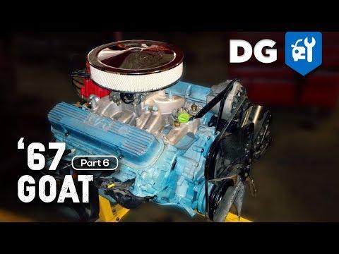 67 Pontiac GTO Restoration - 400 V8 [EP6] - YouTubeYouTube