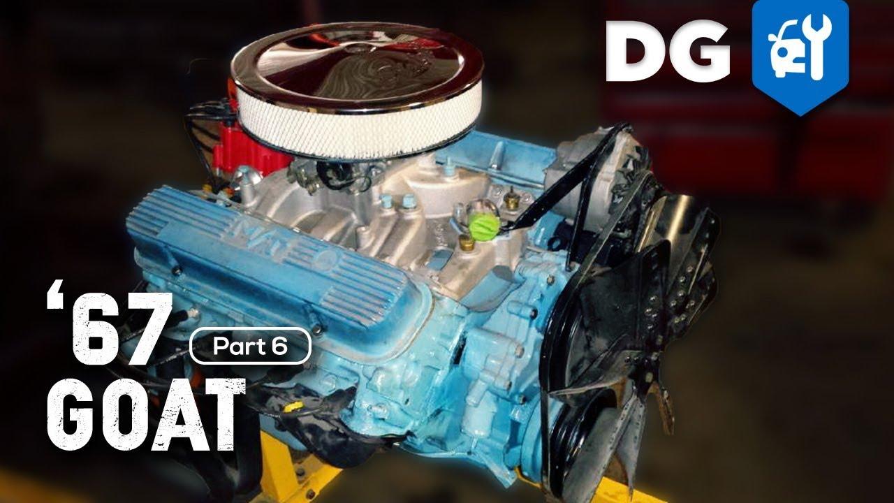 '67 Pontiac GTO Restoration  400 V8 [EP6]  YouTube