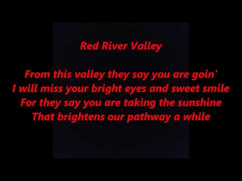 Red River Valley LYRICS WORDS BEST TOP POPULAR FAVORITE TRENDING SING ALONG SONGS