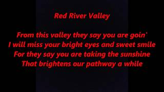 RED RIVER VALLEY Lyrics Words Text country western trending sing along song