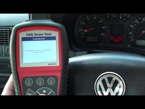 Remove VW Audi Seat Skoda Airbag Light Without Garage Costs With Autel VAG505