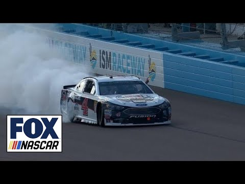 Kevin Harvick wins third straight race | 2018 ISM RACEWAY | FOX NASCAR