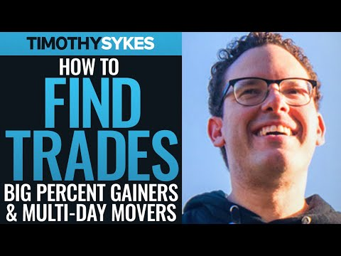 How to Find Trades: Big Percent Gainers and Multi-Day Movers