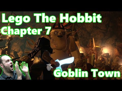 Lego The Hobbit Chapter 7: Goblin Town - Full Episode Gameplay Playthrough