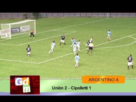 Unión (Mar del Plata) 2 - Cipolletti 1