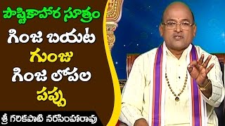 Within seed and around seed | Nutritious Foods Simplified || Sri Garikapati Narasimha Rao |