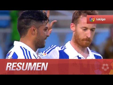 Resumen de Real Sociedad (1-2) Getafe CF