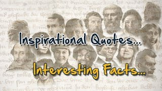 Inspirational Quotes - Interesting Facts #5