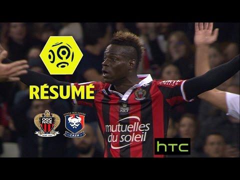 OGC Nice - SM Caen (2-2)  - Résumé - (OGCN - SMC) / 2016-17