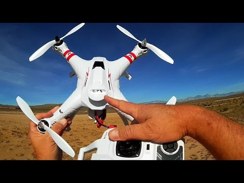 """Bayangtoys X16 GPS """"Upgraded Version"""" Drone Flight Test Review"""