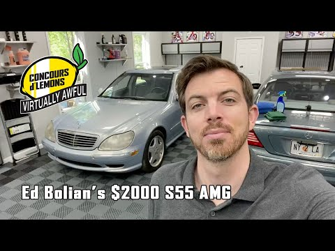 Ed Bolian - $2000 S55 AMG Virtually Awful Concours d'Lemon Entry