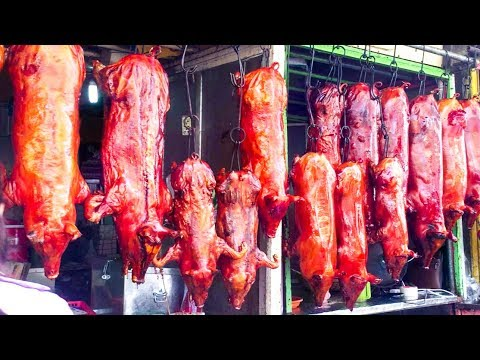 Asian Street Food, Fast Food Street in Asia, Cambodian Street food #163