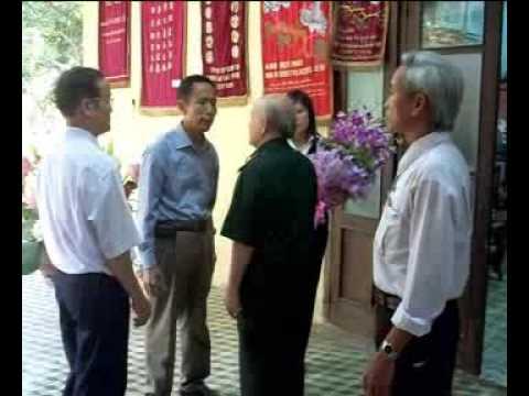 QBT thăm đại tướng Võ Nguyên Giáp