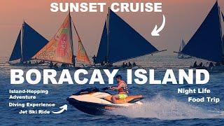 4K UHD Walking Tour | New Boracay Island Philippines 2019 | Nightlife | Activities | Sunset | Hotels