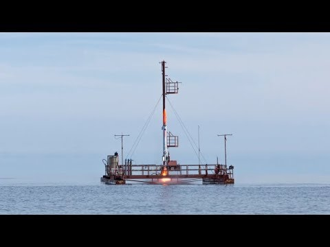 Our platform for launching rockets at sea