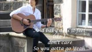 Bobby Andonov - What a way to go (Lyrics)