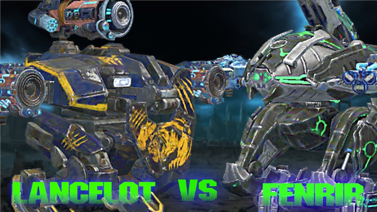 SUPER LANCELOT vs CRYPTIC DURABLE FENRIR | The Surprising HEAVY Robot Matchup | WR