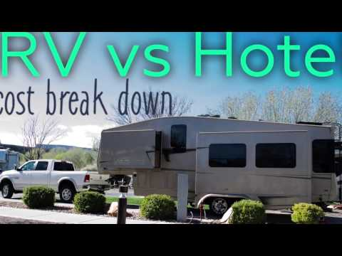 RV Costs VS Hotel Costs