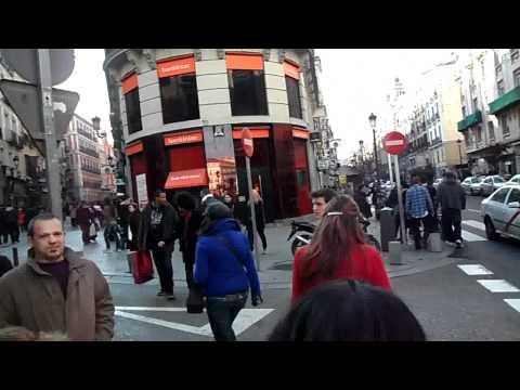 Walking in the street - Madrid