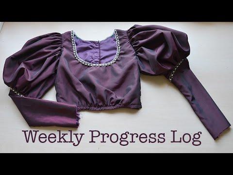 Weekly Progress Log #2 : Sewing & Costumery
