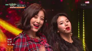 뮤직뱅크 Music Bank - YES or YES - TWICE(트와이스).20181123 TWICE 検索動画 14