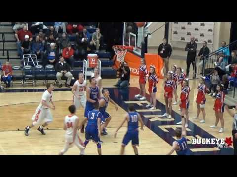 2017 Basketball: Versailles vs. Tri-Village - Flyin' to the Hoop