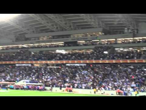 30000 Israelis sing Hatikva - Israel Vs  Wales