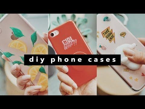 3 DIY Phone Cases