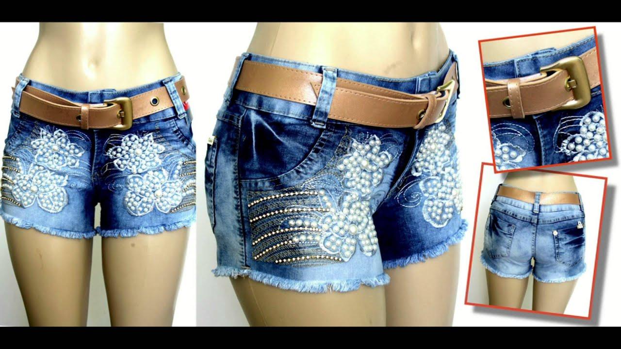 Amais linda coleu00e7u00e3o de short jeans do Brasil! Compre no ...