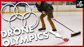 OLYMPIC GAMES with DRONES?!
