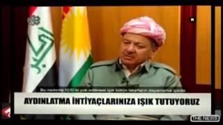 Krdistan Blgesi Ynetimi Bakan Mesud Barzani imctv de  10 Nisan 2015