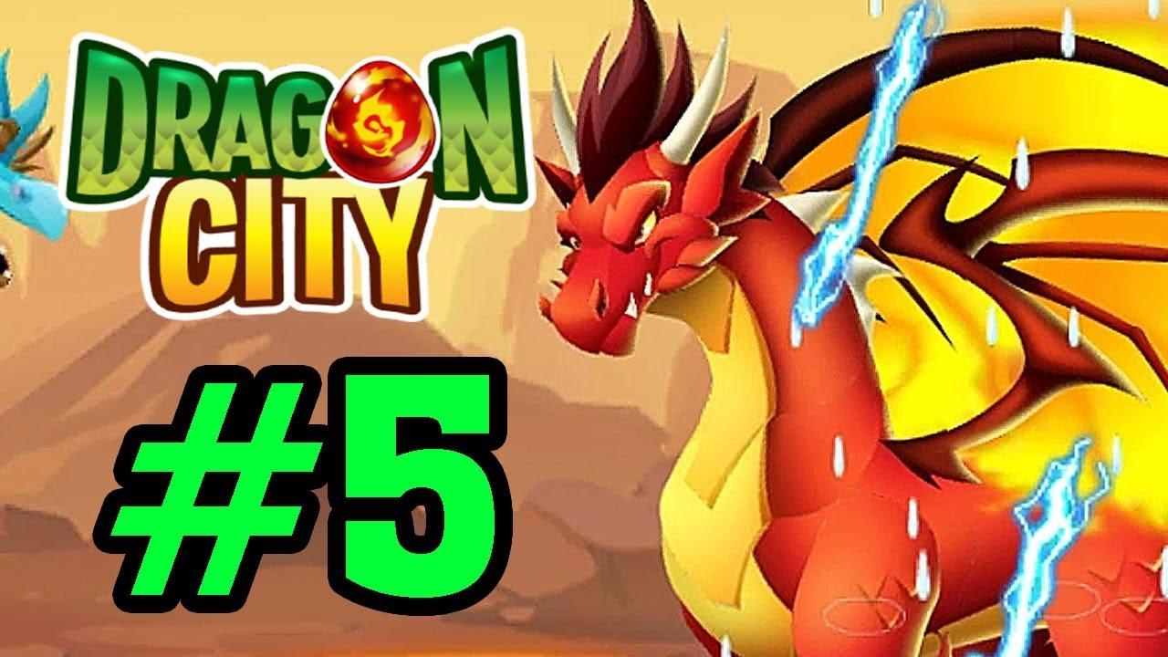 Dragon City – GAME NÔNG TRẠI RỒNG – RỒNG LỬA PHIÊN BẢN CỔ ĐIỂN (FIRE DRAGON) Tập 5